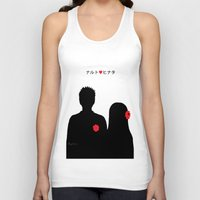 naruto Tank Tops featuring He ♥ She by RaJess