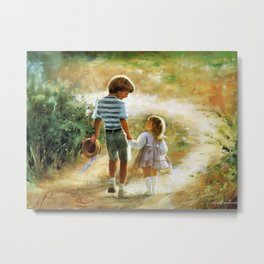 donald-zolan-kids-art-paintings-for-wall-decorating-how-to-do-spray-paint-art-paint-arts-art-paintin Metal Print