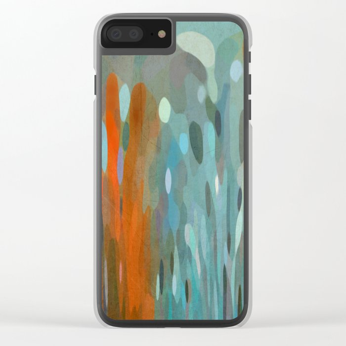 Coral Reef Clear iPhone Case