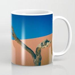 Tree Red Dune Abstract Coffee Mug