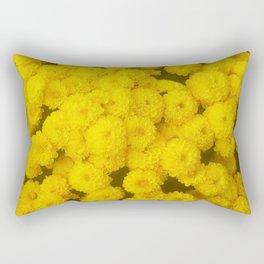Autumn Gold - Chrysanthemums Rectangular Pillow
