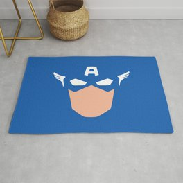 Superhero America Captain Rug