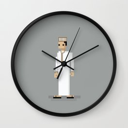 Omani Guy pixelated Wall Clock