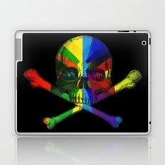 Skull and Bones Multicolor Laptop & iPad Skin