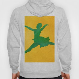 AP124 Watercolor dancer Hoody