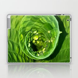 Spiral Drops Laptop & iPad Skin
