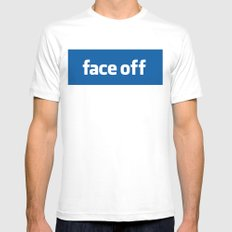 2010 - Face Off White MEDIUM Mens Fitted Tee