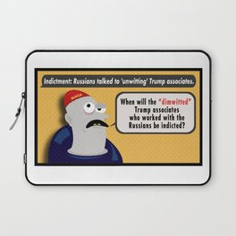 Dimwitted & Associates. Laptop Sleeve
