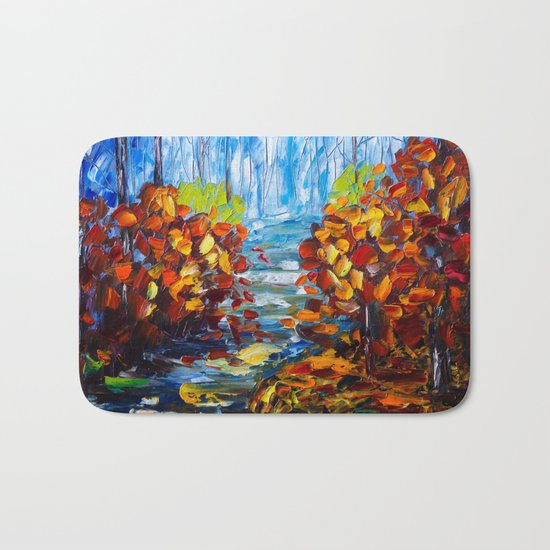 Misty Path Bath Mat