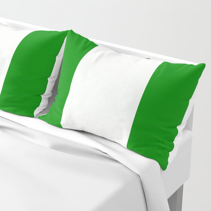 Flag of Nigeria Pillow Sham