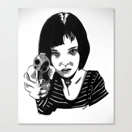 Mathilda - The Professional Canvas Print