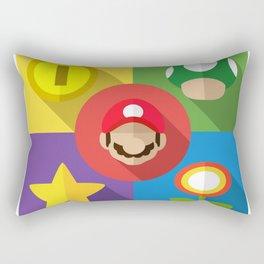 Super Mario flat Rectangular Pillow