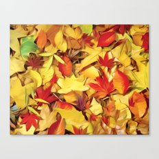 Falling for Autumn Canvas Print