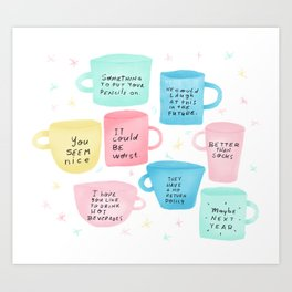 Disapoiment mugs Art Print