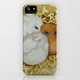 Bunny Hutch iPhone Case