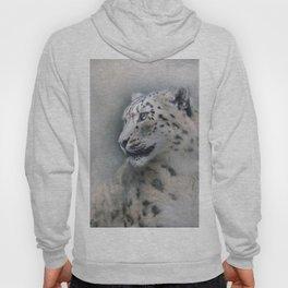 Snow Leopard profile Hoody