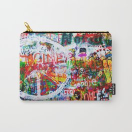 Lennon Wall - All You Need Is Love - Peace Carry-All Pouch