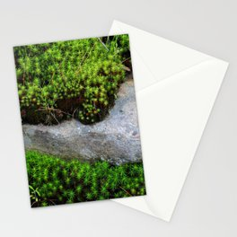 Vibrant Moss Stationery Cards