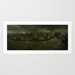 Amber Lake Art Print