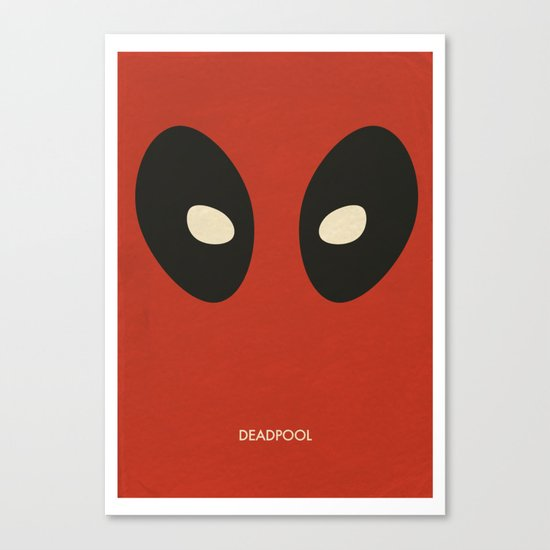 Deadpool Canvas Print