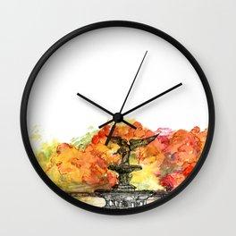 Central Park: Bethesda Fountain Wall Clock