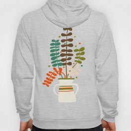 Potted Leaves Hoody