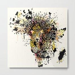 The last leopard Metal Print