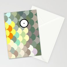 Rainbow Scales  Stationery Cards