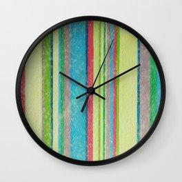 rayures Wall Clock