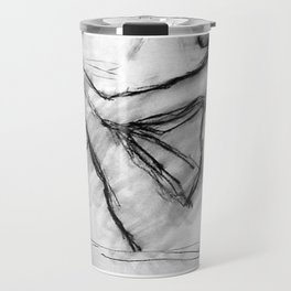 Male Sketch Travel Mug