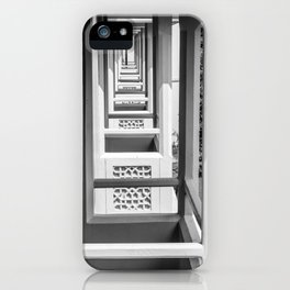 Balcony tunnel vision iPhone Case