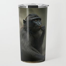 Celebes Crested Macaque Youngster Travel Mug