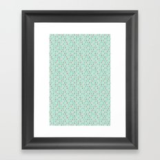 Raindrop Confetti Framed Art Print