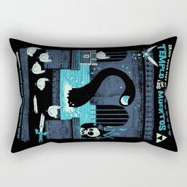 Templo de los Muertos Rectangular Pillow
