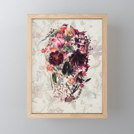 New Skull 2 Framed Mini Art Print