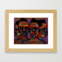 2018 As Unity We Migrate Life by Marcellous Lovelace Framed Art Print