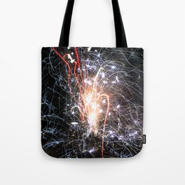 Asphalt Freedom Tote Bag