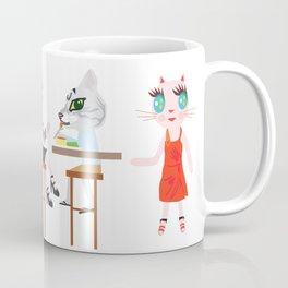 Taro fashionista cats Coffee Mug