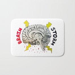 Brain Storm Bath Mat