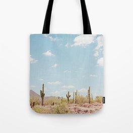 Saguaros in the Desert Tote Bag
