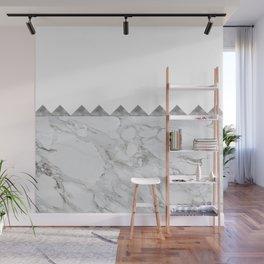 Adoring Grey Wall Mural