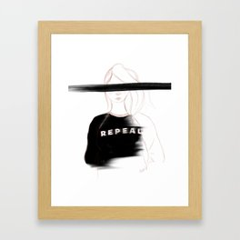 Mná na hÉireann Framed Art Print