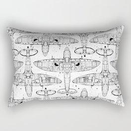 Spitfire Mk. XIV (Light) Rectangular Pillow