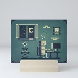 Screenstruck graphic illustration Mini Art Print