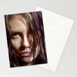 Maggie Rhee - The Walking Dead Stationery Cards