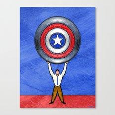 BLUE STATE Canvas Print