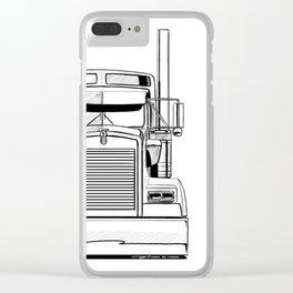 Kenworth w900 Clear iPhone Case