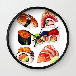 SUSHI Wall Clock