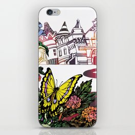 Summer Cycling iPhone Skin