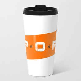 Sport Hero Dynamic Style Orange Travel Mug